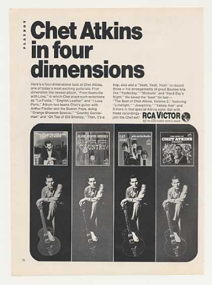 Chet Atkins RCA Victor Four Albums Photo (1966)