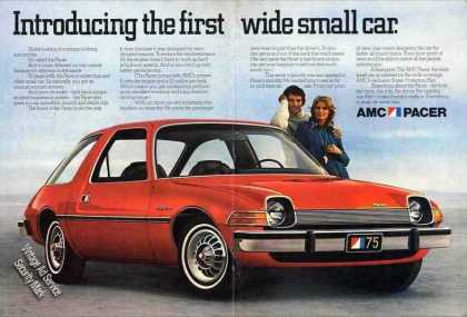 Amc Pacer Introducing the First Wide Small Car (1975)