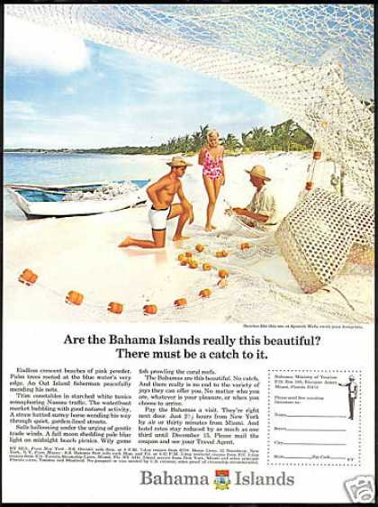 Bahama Island Travel Spanish Wells Beach (1966)