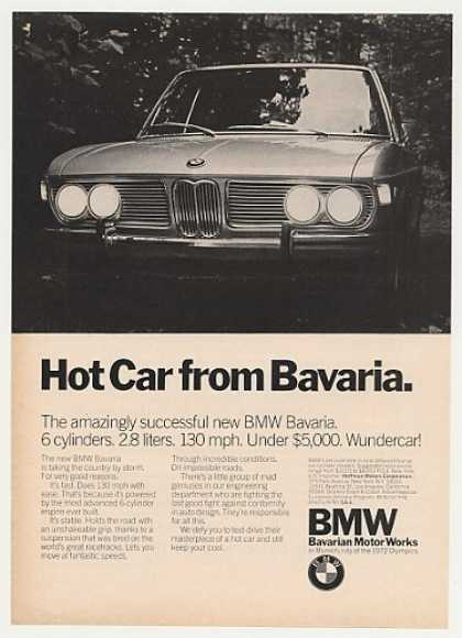 BMW Bavaria Hot Car Under $5,000 Photo (1971)
