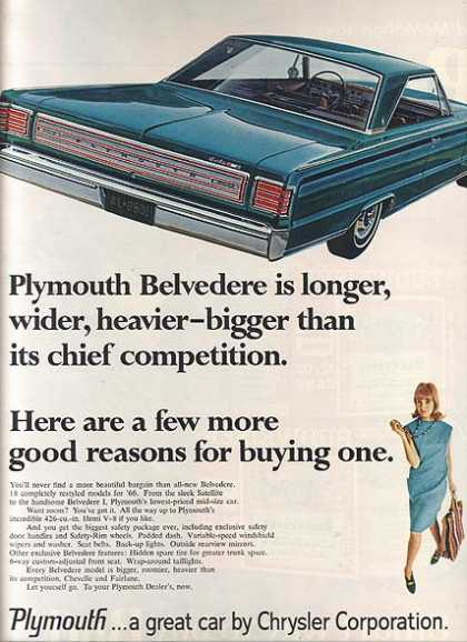 Chrysler's Plymouth (1966)