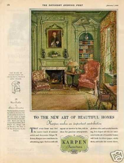 Karpen Furniture Color (1928)