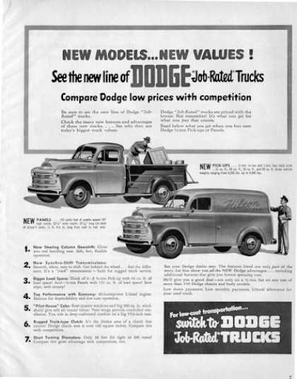 Dodge Trucks Panel Van (1950)