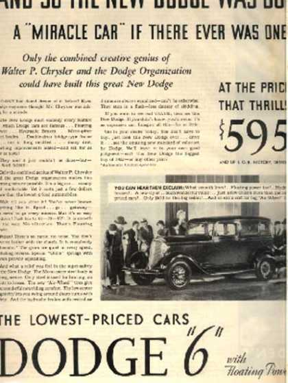 Chrysler's Dodge (1933)