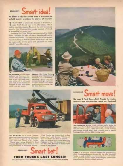 Ford Trucks – Davidson's Smart Idea (1949)
