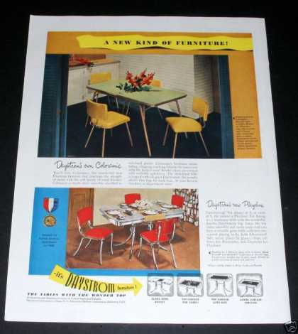 Daystrom Coloramic Playdine Set (1950)