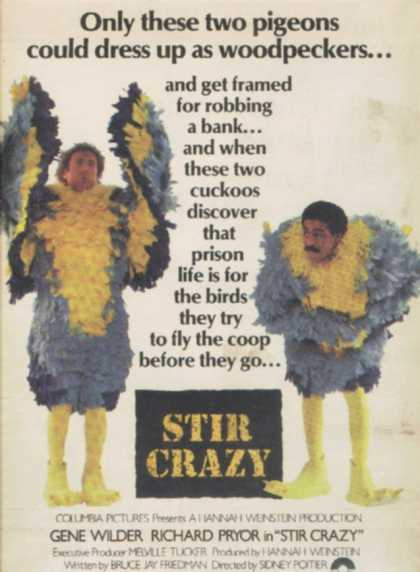 Stir Crazy (Gene Wilder) (1980)