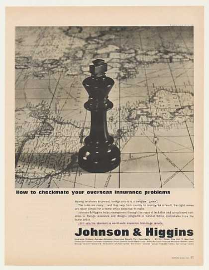 Johnson & Higgins Checkmate Overseas Insurance (1963)