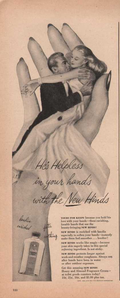 Hinds Honey & Almond Fragrance Hand Cream (1942)