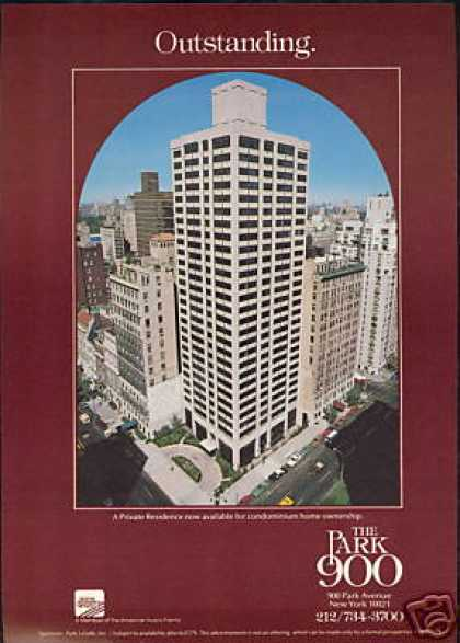 New York The Park 900 Condo Condominium (1979)