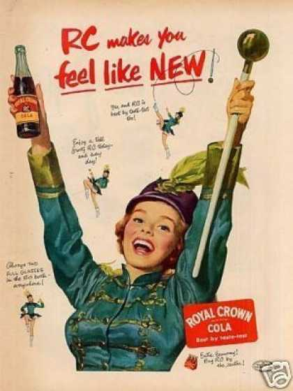 "Royal Crown Cola Ad ""Rc Makes You Feel... (1952)"