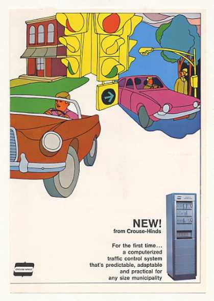 Crouse-Hinds TRAFLO Traffic Control System 4-Pg (1967)