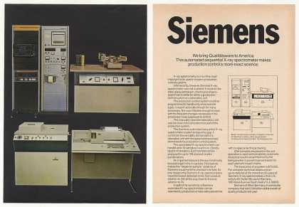 Siemens X-ray Spectrometer Computer System (1970)