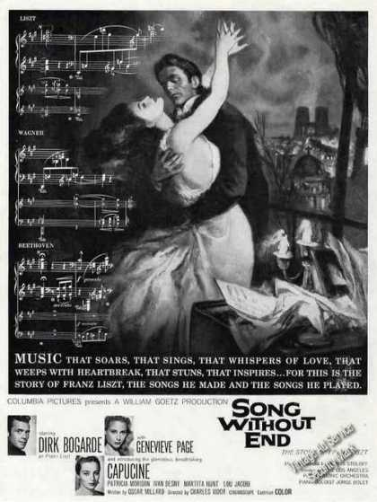 Song Without End Franz Liszt Story Movie (1960)