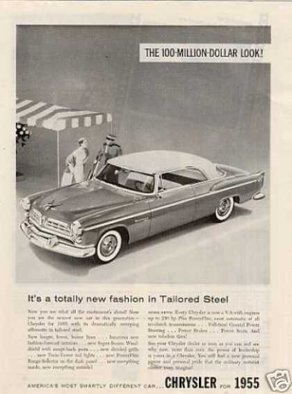 "Chrysler Car Ad ""It's a Totally New Fashion... (1955)"