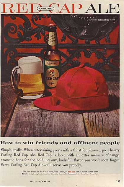 Carling's Red Cap Ale (1960)
