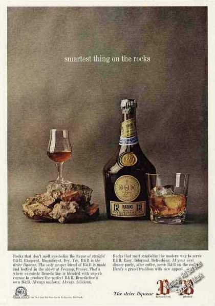 "B&b Liqueur ""Smartest Thing On the Rocks"" (1963)"
