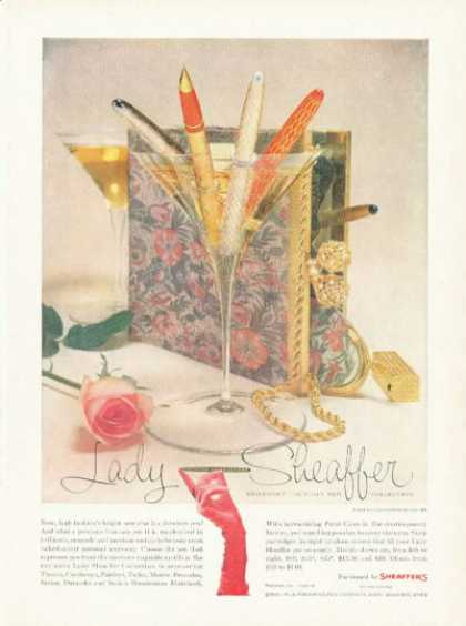 Sheaffer Pen Cartier Purse & Accessories (1958)