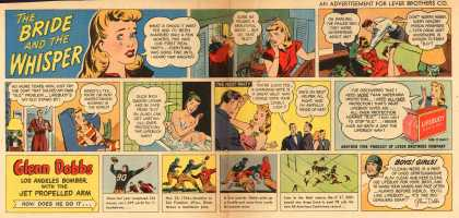 Lever Brothers Company's Lifebuoy Health Soap – The BRIDE and the WHISPER (1947)