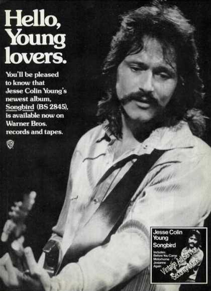 Jesse Colin Young Photo Rare Songbird Album (1975)