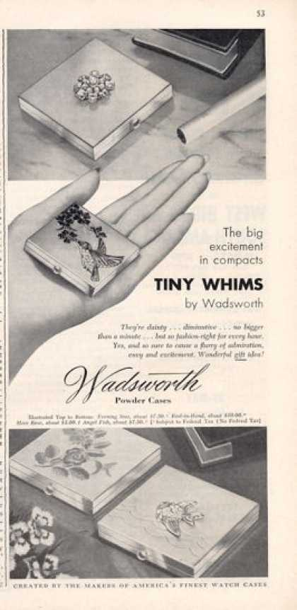 Wadsworth Powder Cases (1949)