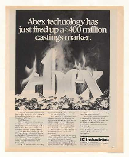 IC Industries Abex Thermax Alloy Castings (1977)