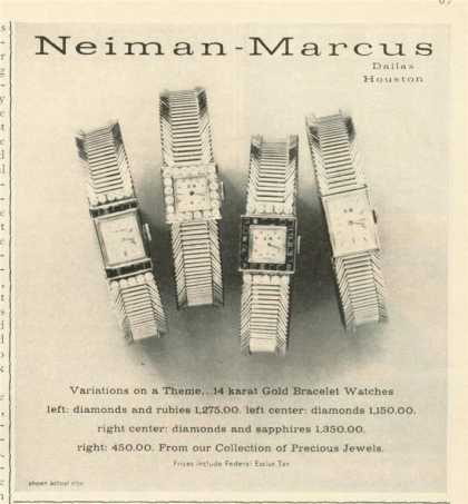 Neiman Marcus Fine Watch (1962)