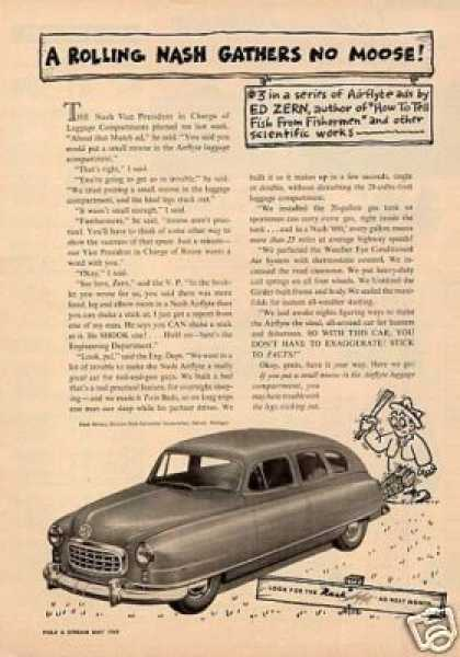 Nash Airflyte Car (1949)