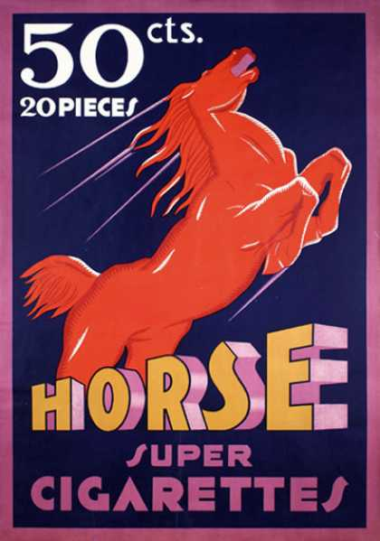 Horse – Suiza (1933)