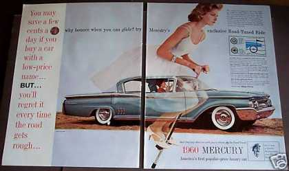 Mercury Car for '60 Woman On Pogo-stick (1959)