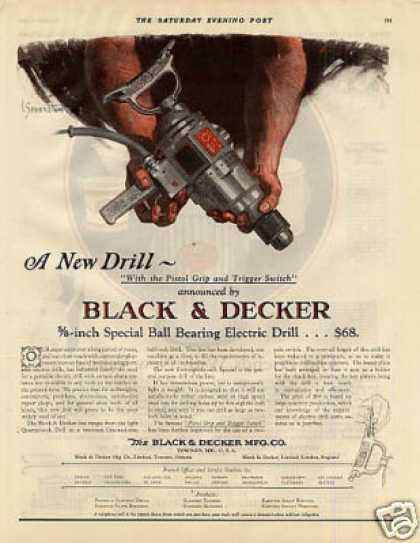 Black & Decker Drill Color (1926)