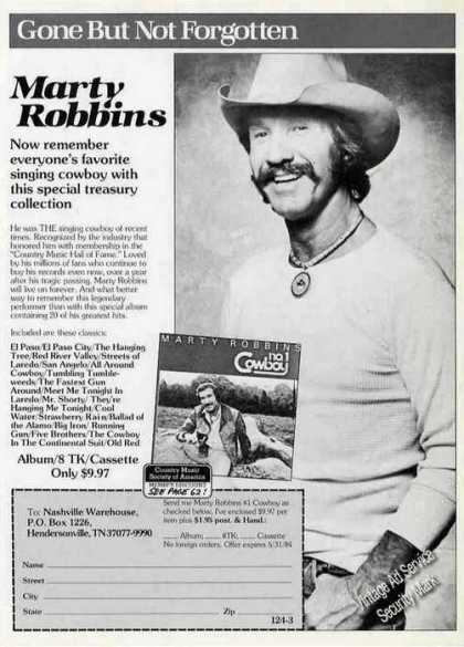 Marty Robbins Photo Album Promo (1984)