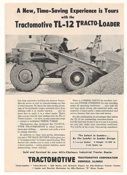 Tractomotive TL-12 Tracto-Loader Photo (1955)