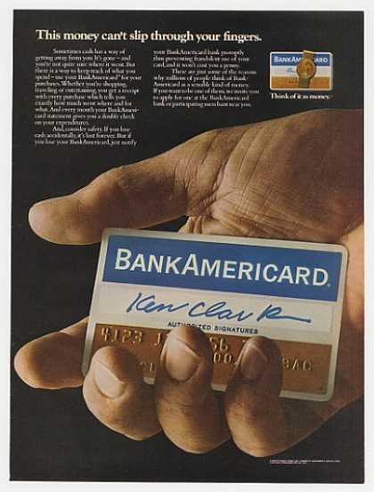 BankAmericard Money Can't Slip Through Fingers (1972)