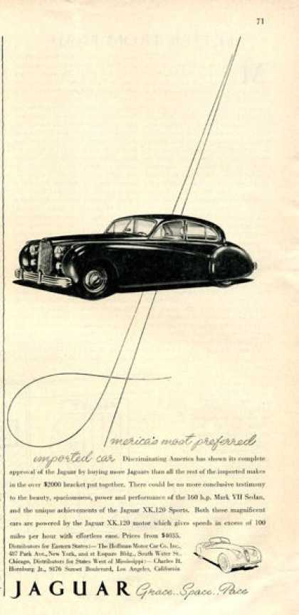 Jaguar Mark Vii Sedan Xk 120 (1952)