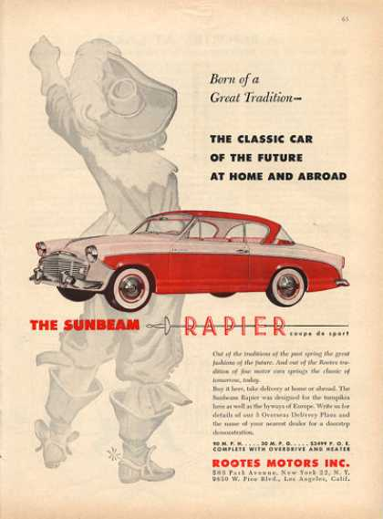 Rootes Sunbeam Rapier Car (1956)