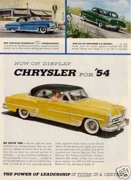 Chrysler Car (1954)