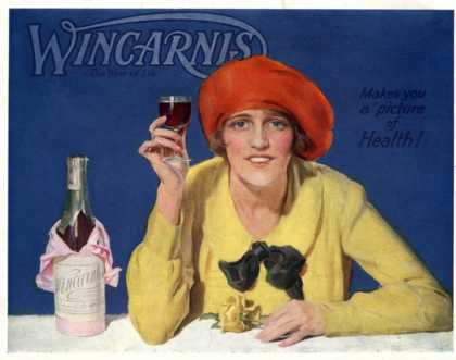 Wincarnis Wine Fortified Alcohol, UK (1910)