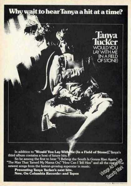 """Tanya Tucker """"Would You Lay With Me"""" Music (1974)"""
