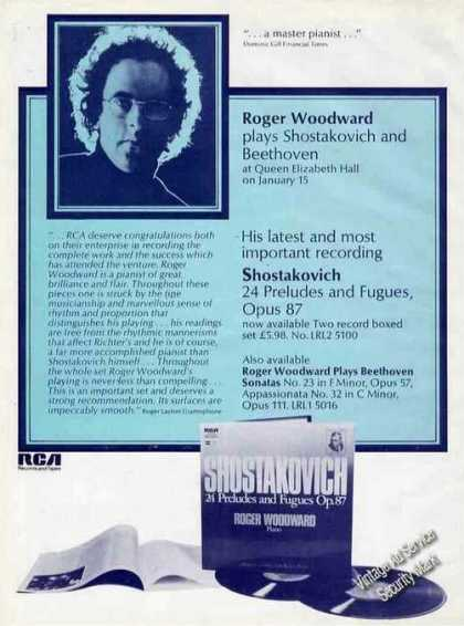 Roger Woodward Photo Piano Uk Music (1976)
