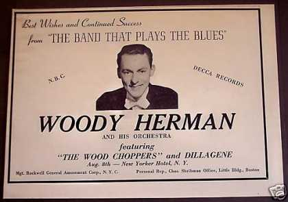 Woody Herman and His Orchestra Music (1940)