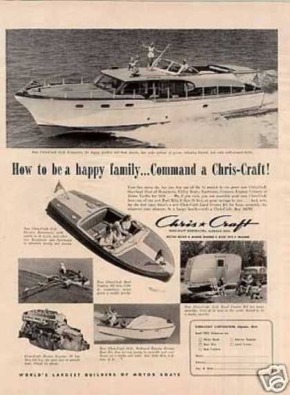 Chris Craft 53-ft Conqueror Boat (1953)