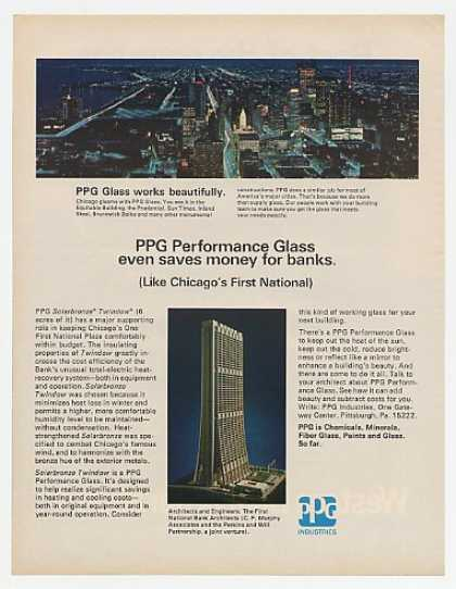 Chicago Skyline photo First National Bank PPG (1969)