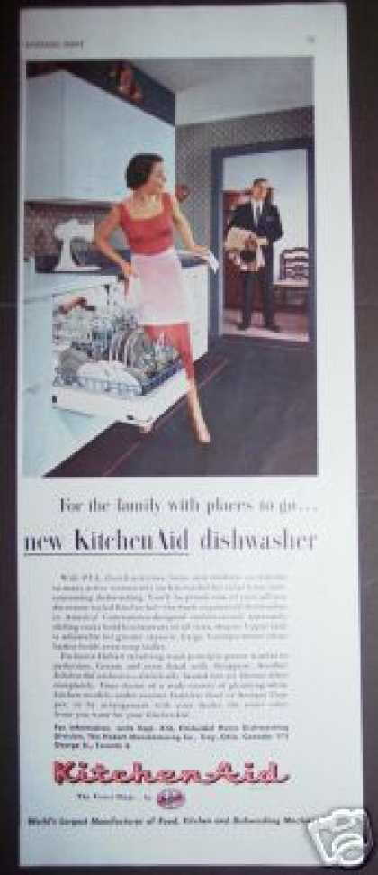Original Kitchen Aid Dishwasher Retro Decor (1955)
