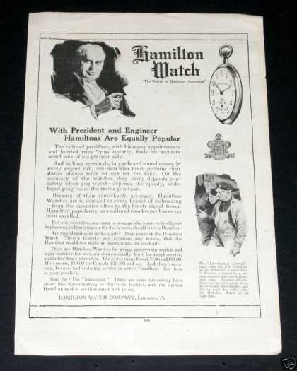 Hamilton Watch, Rr Accuracy (1919)