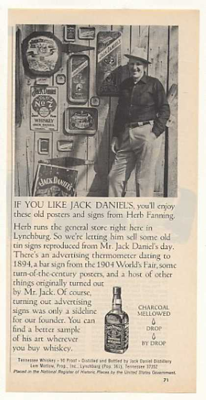 '75 Jack Daniel's Whiskey Herb Fanning General Store (1975)