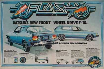 Datsun F-10 Car – Hatchback and Sportwagon (1976)
