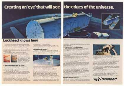 Lockheed NASA Space Telescope 2-Page (1982)