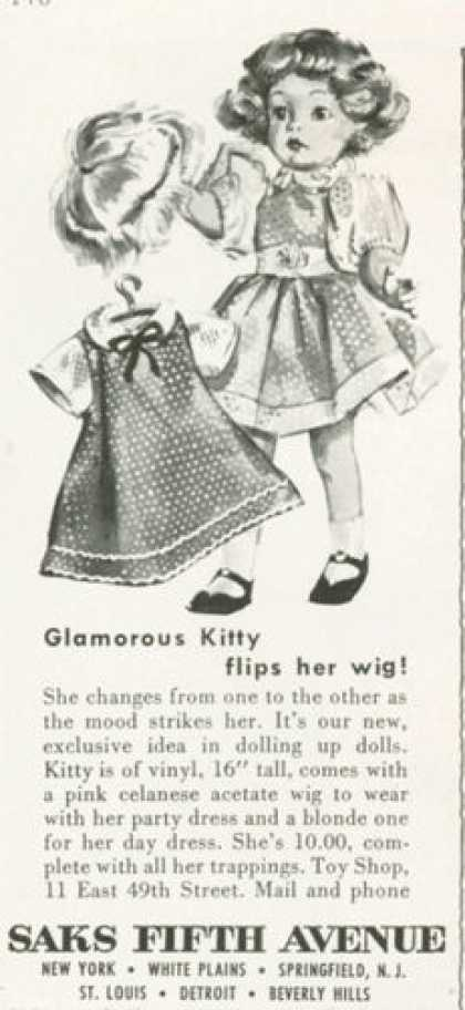 Glamorous Kitty Saks Fifth Avenue Doll (1959)