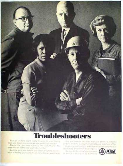 AT&amp;T &#8211; Troubleshooters (1967)